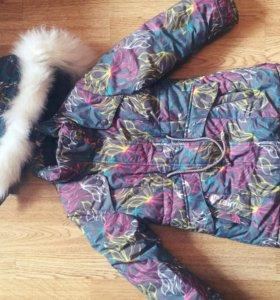 Зимняя куртка детская 110