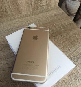 Продам iPhone 6, gold, 16Gb