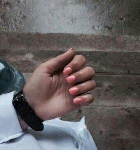 Наращивания ногтей, педикюр