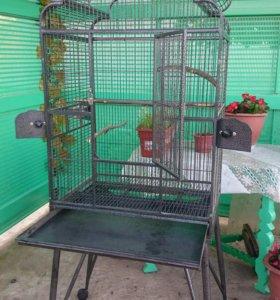Клетка для крупных попугаев.