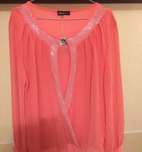 Новая блуза+маечка