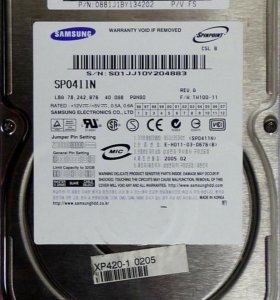 Samsung SP0411N40gb в Зеленокумске