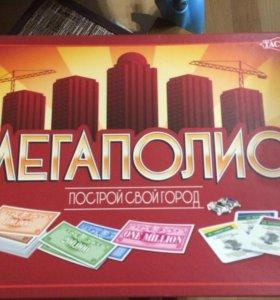 """Настольная игра """"Мегаполис"""""""