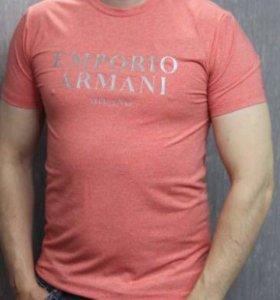 Новые мужские футболки Armani