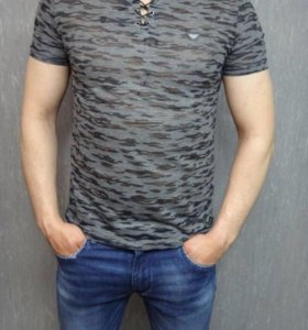 Новые мужские футболки Armani,PP