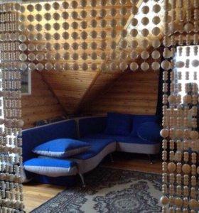 Деревянная штора