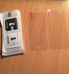 Бронестекла для iPhone 5/5s