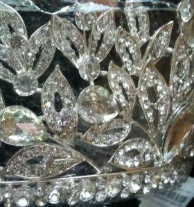 Корона свадебная новая