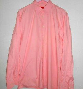 Розовая классическая рубашка Hugo Boss (оригинал)