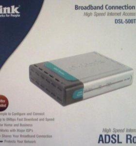 Модем (роутер) D-Link DSL -500T