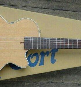Электро гитара Cort с нейлоном