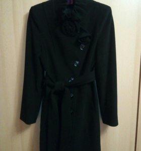 Пальто из кашемира и шерсти