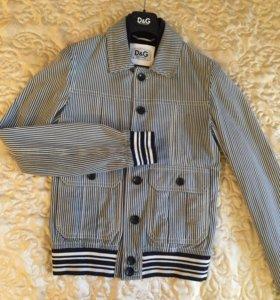 Куртка D&G оригинал замшевая