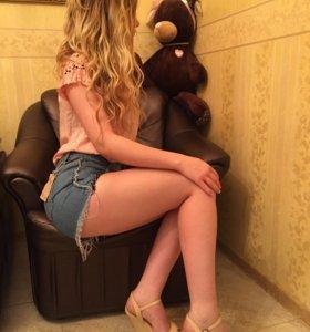 Шорты джинсовые женские новые