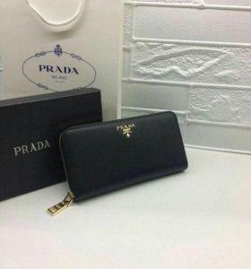 Prada женский кошелёк