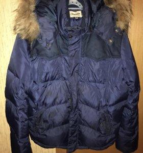 Зимний пуховик, куртка мужская wrangler