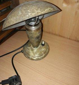 Настольная лампа 50-60х годов