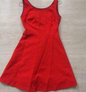 Zara коралловое платье просто нереальное