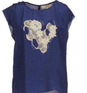 Блузка шелковая athe vanessabruno оригинал