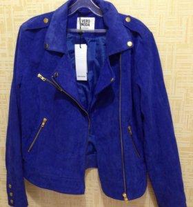 Куртка - косуха VERA MODA (натуральная кожа замша)