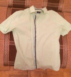 Рубашка стрейчевая новая