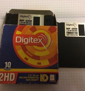 Дискеты флоппи диски Digitex