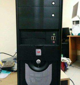 E8500 3,2 ггц / 6 Гб DDR3 / Nvidia GTS250 1 Гб