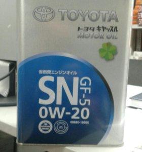 Моторное масло TOYOTA 0w20