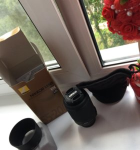 Новый объектив Nikon 55-200