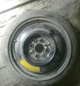 Запасное колесо mazda demio докатка