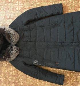 Пальто на синтепоне.