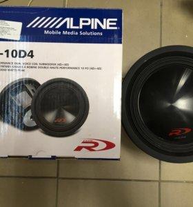 Сабвуфер Alpine SWR-10D4