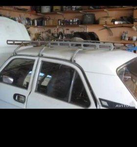 Багажник на крышу волга