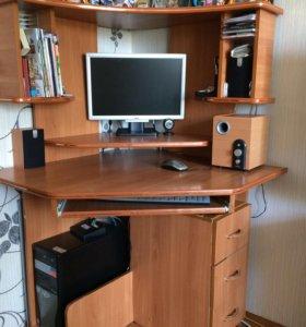 Компьютерный стол + комод под телевизор в подарок