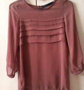 Шифоновая блузка Zara