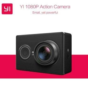 Новая Xiaomi Yi экшн камера Global Version
