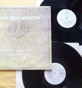 "Пластинки (2 шт)""И.Христос-Суперзвезда""(Ян Гиллан)"