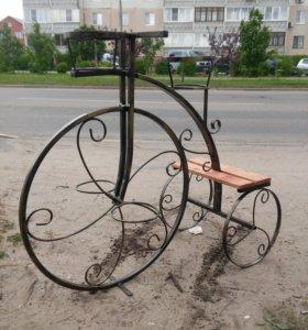Садовый декор металлоконструкции