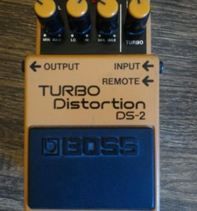 Педаль BOSS DS-2 Turbo Distortion (Дисторшн)