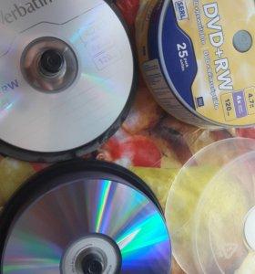 Диски tdk dvd rw и DVD r