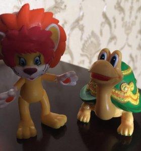 Львёнок и черепаха фигурки