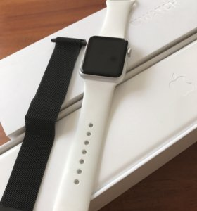 Apple Watch 42 mm White Sport