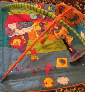 Детский развивающий коврик TINY LOVE 'Зоосад'