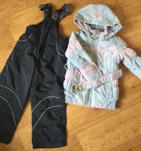 Куртка и комбинезон на девочку