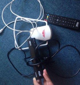 Комплект цифрового телевидения новый