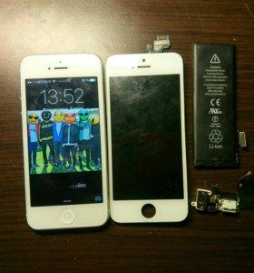 Ремонт Iphone  и Android Гарантия