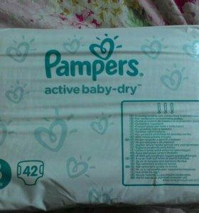 Подгузники pampers 3 (5-9 кг)