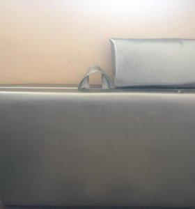 Серебряная кушетка для косметологов 180*55