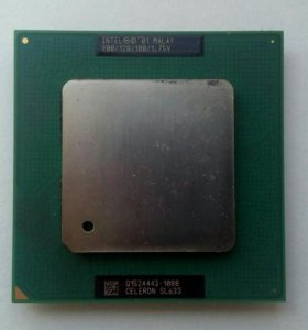Intel Celeron Processor 900 МГц, 128k Cache 100 MH