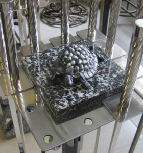Комплект шампуров на подставке